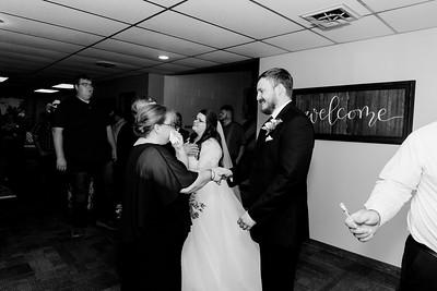 01033©ADHPhotography2020--ChanceKellyHayden--Wedding--AUGUST1bw