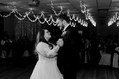 02208©ADHPhotography2020--ChanceKellyHayden--Wedding--AUGUST1bw