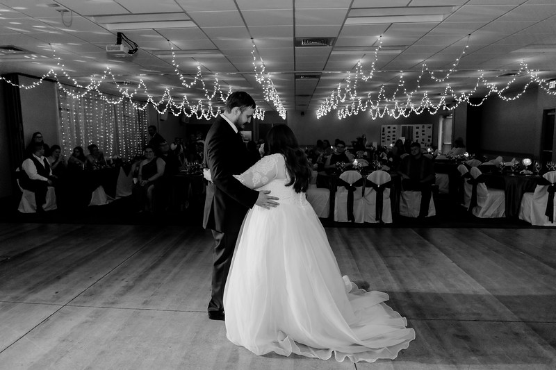 02206©ADHPhotography2020--ChanceKellyHayden--Wedding--AUGUST1bw