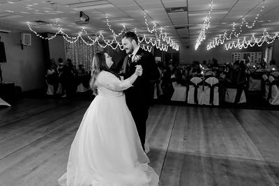 02207©ADHPhotography2020--ChanceKellyHayden--Wedding--AUGUST1bw