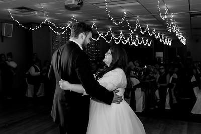 02210©ADHPhotography2020--ChanceKellyHayden--Wedding--AUGUST1bw