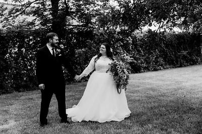 01133©ADHPhotography2020--ChanceKellyHayden--Wedding--AUGUST1bw