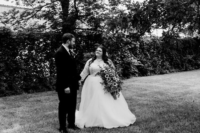 01125©ADHPhotography2020--ChanceKellyHayden--Wedding--AUGUST1bw
