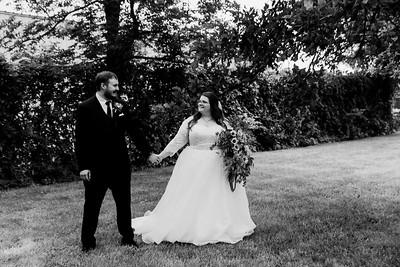 01132©ADHPhotography2020--ChanceKellyHayden--Wedding--AUGUST1bw