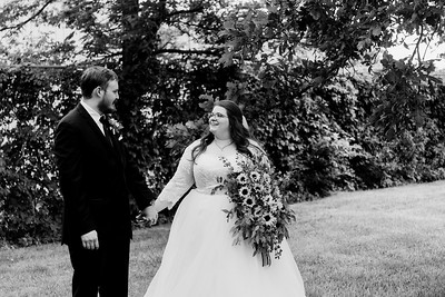 01123©ADHPhotography2020--ChanceKellyHayden--Wedding--AUGUST1bw
