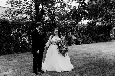 01126©ADHPhotography2020--ChanceKellyHayden--Wedding--AUGUST1bw