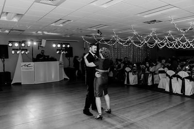 02236©ADHPhotography2020--ChanceKellyHayden--Wedding--AUGUST1bw