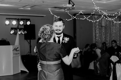 02237©ADHPhotography2020--ChanceKellyHayden--Wedding--AUGUST1bw