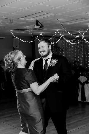 02234©ADHPhotography2020--ChanceKellyHayden--Wedding--AUGUST1bw