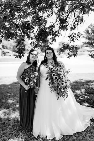 00307©ADHPhotography2020--ChanceKellyHayden--Wedding--AUGUST1bw