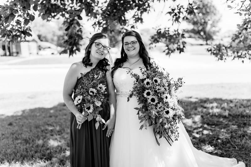 00313©ADHPhotography2020--ChanceKellyHayden--Wedding--AUGUST1bw
