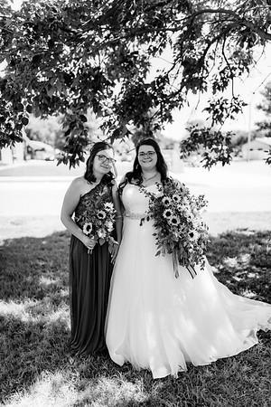 00306©ADHPhotography2020--ChanceKellyHayden--Wedding--AUGUST1bw