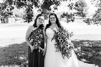 00314©ADHPhotography2020--ChanceKellyHayden--Wedding--AUGUST1bw