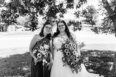 00315©ADHPhotography2020--ChanceKellyHayden--Wedding--AUGUST1bw