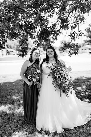 00308©ADHPhotography2020--ChanceKellyHayden--Wedding--AUGUST1bw