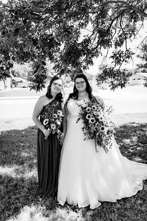 00309©ADHPhotography2020--ChanceKellyHayden--Wedding--AUGUST1bw
