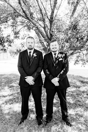 00597©ADHPhotography2020--ChanceKellyHayden--Wedding--AUGUST1bw