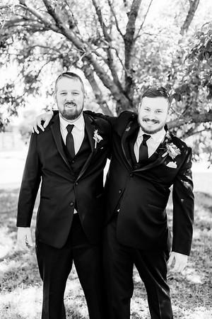00602©ADHPhotography2020--ChanceKellyHayden--Wedding--AUGUST1bw