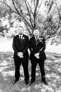 00594©ADHPhotography2020--ChanceKellyHayden--Wedding--AUGUST1bw