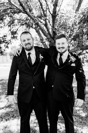 00601©ADHPhotography2020--ChanceKellyHayden--Wedding--AUGUST1bw