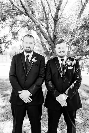 00598©ADHPhotography2020--ChanceKellyHayden--Wedding--AUGUST1bw