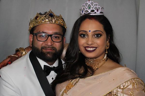 Chandni and Bhargav
