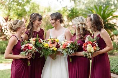 Charlcie & Adam's Wedding at The Parador, Houston, TX  October 8, 2016