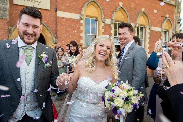 Charlotte & Matt at Stanbrook Abbey in Worcestershire