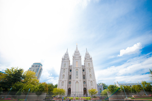 Salt Lake Temple Wedding