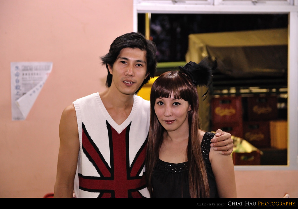 Fang's brother and sister in law