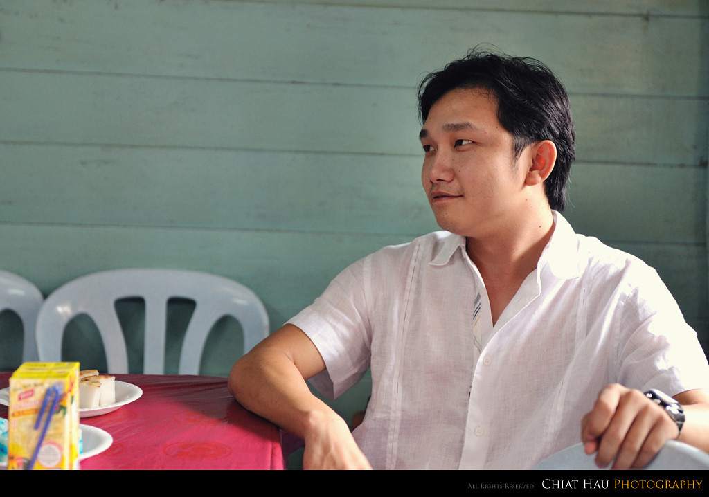 Ah Seng is here waiting as well