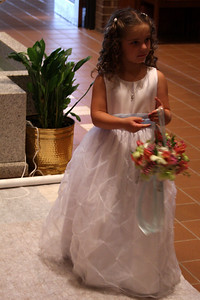 The flower girl - Whitehouse Station, NJ ... July 5, 2008 ... Photo by Rob Page III