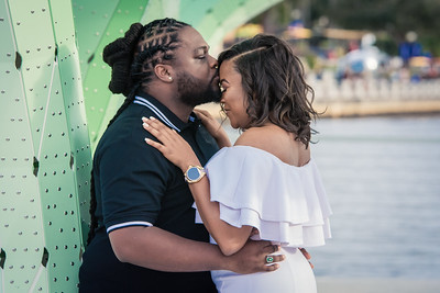 Bishop and Jasmine Engagement