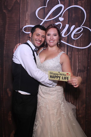 Nick and Kelly's Wedding Mirror Booth 2018