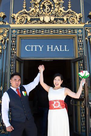 Chester and Iku's San Francisco Wedding