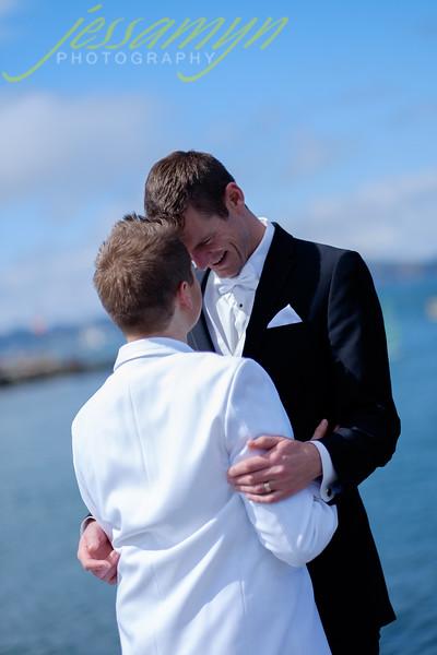 Chris and Colin Wedding