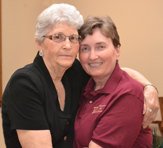 Cousins: Marge Clark & Paulette Wasylycia