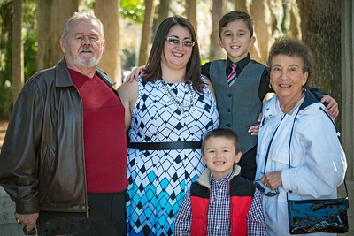 Leah, grandparents, boys