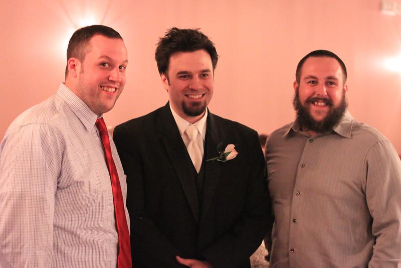 Cousins Jon, Chris, Michael