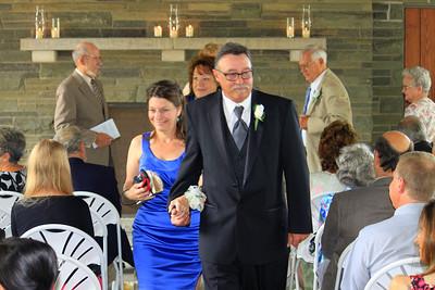 Kim and Bill Hake, Stefanie's Mom & Dad.  Janet Kundl Chris' Mom