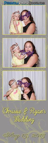 Chrissie + Ryan Wedding 5-15-2015