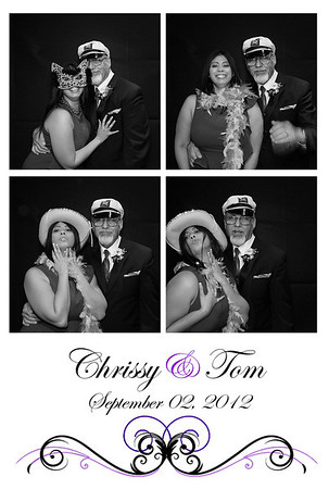 Chrissy and Toms' Wedding September 2nd, 2012