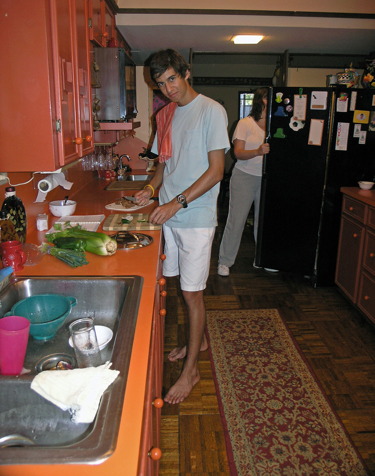 2011 Jul 9.  That night Cameron made jambalaya for dinner.