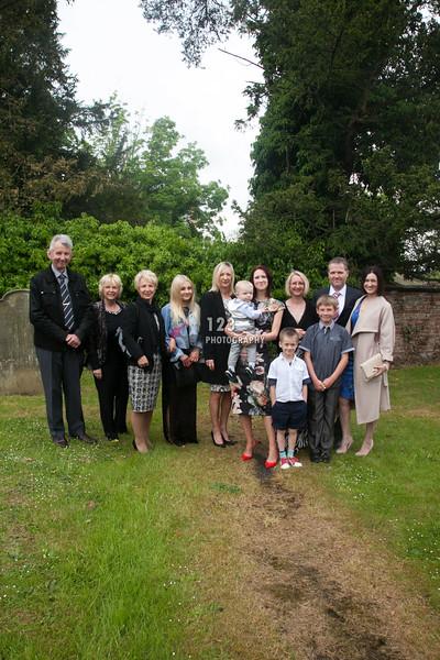 christening photography St Laurence Church, Kirby Misperton