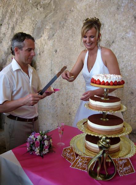 aansnijden taart
