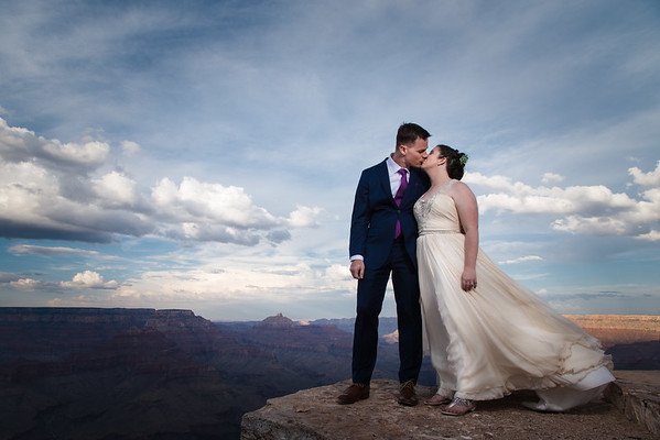 Christin and Jeremiah | Shoshone Point Wedding