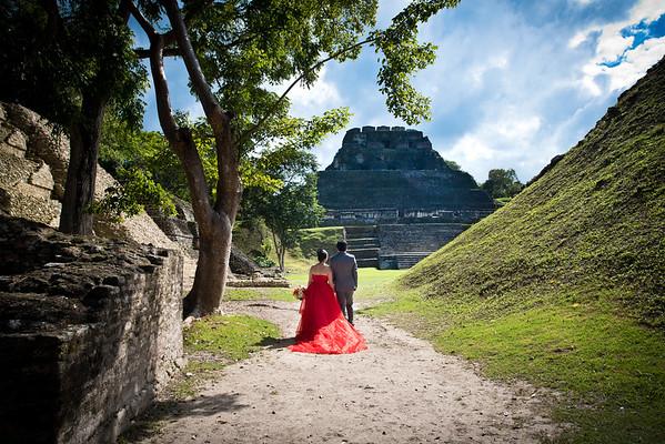Christina & Aaron - Wedding - Belize - 11th of December 2015