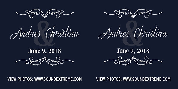 Christina & Andres 6/9/18