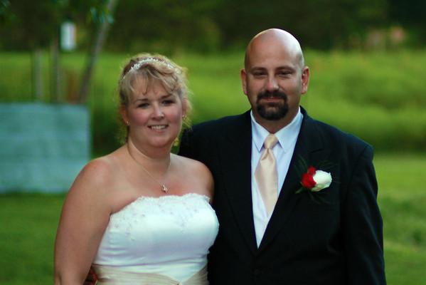 Christina & Darell wed