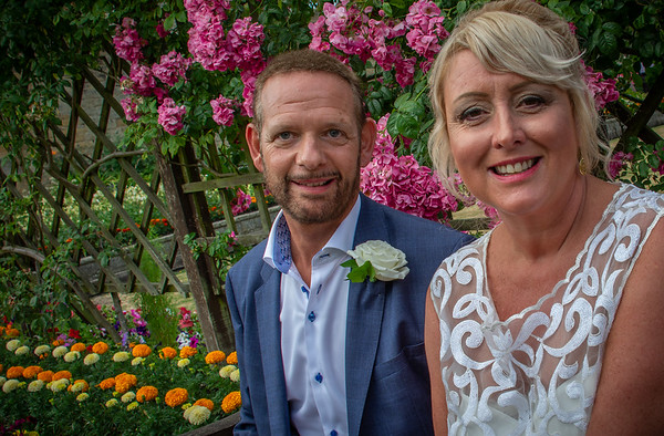 Christine & Charlie Wedding Bakewell Derbyshire